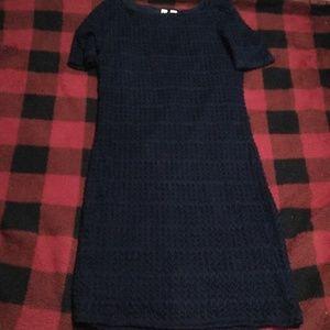 Tacera Navy Blue Dress